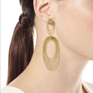 Gorjana Presley gold Drop Earrings